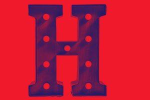 lettera H